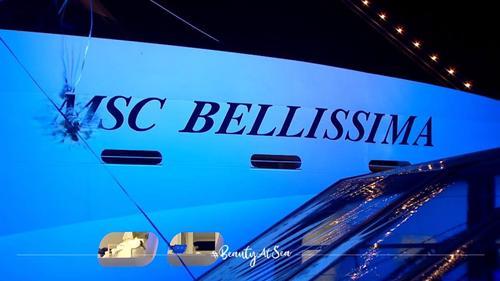 Состоялось крещение нового лайнера MSC Bellissima