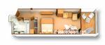 Сьют с балконом одноместное размещение GTY (SV)