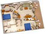 Concierge сьют с балконом (2 спальни) S