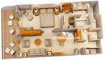 Concierge сьют с балконом (1 спальня) T