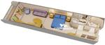 Deluxe Family каюта с балконом (4A)