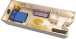 Standard внутренняя каюта (11A)