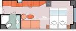 Гарантированная внешняя каюта (Basic)