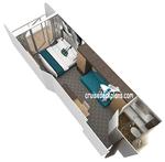 Каюта с большим балконом: Категория 1C (RU) - с 06.05.2018