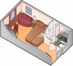 Premium каюта с окном (XP)