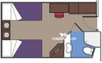 Внутренняя каюта Bella (I1)