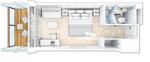 Britannia каюта с балконом (BU)