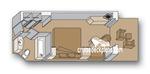 Каюта с балконом (VH)
