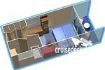 Каюта с балконом: категория 2D
