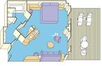 Penthouse сьют с балконом (S4)