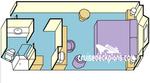 Каюта с окном (ограниченный вид) (OY)
