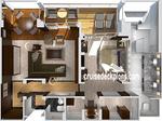 Crystal Penthouse с балконом (CP)