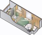 Deluxe каюта с балконом (2A)