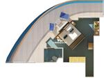 Premium Vista каюта с балконом (9C)