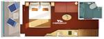 Каюта с балконом (8B)