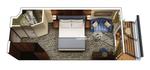 Каюта с балконом уровня Concierge A2