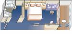 Premium Deluxe каюта с балконом (D4)