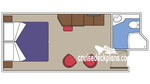 Сьют внутренний Yacht Club категории YIN